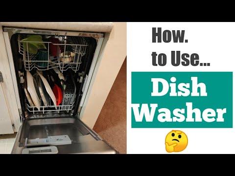 How To Use Dishwasher (Telugu)| FRIGIDAIRE DISHWASHER |Canada Vlogs | DilseDivs