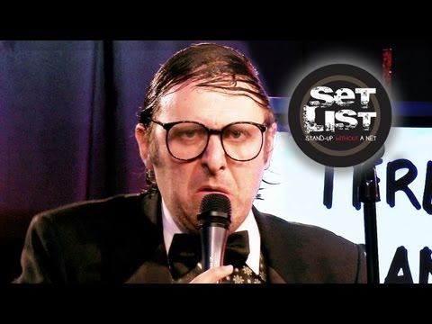 NEIL HAMBURGER  - Set List: Stand-Up Without a Net