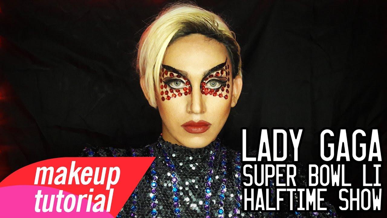 Lady Gaga Super Bowl LI Halftime Show Makeup Tutorial
