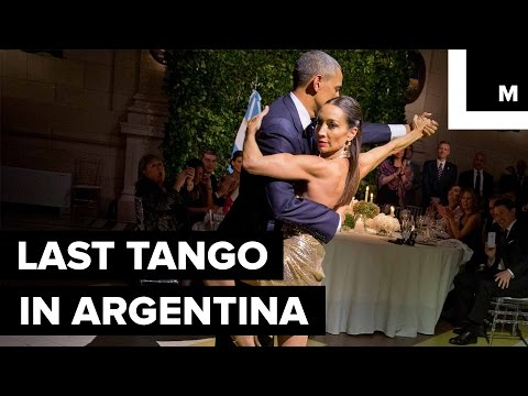 Obamas Bust Out Smooth Tango Moves in Argentina