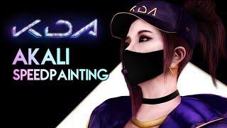 K/DA - POP/STARS (Akali Speedpainting Version)