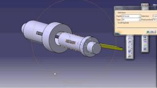 socket and spigot joint Catia V5(CAD)