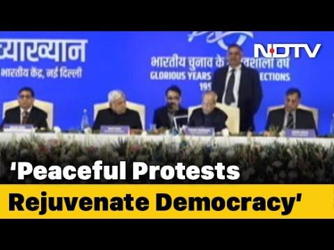 Democracy Thrives On Dissent, Says Pranab Mukherjee Amid CAA Protests