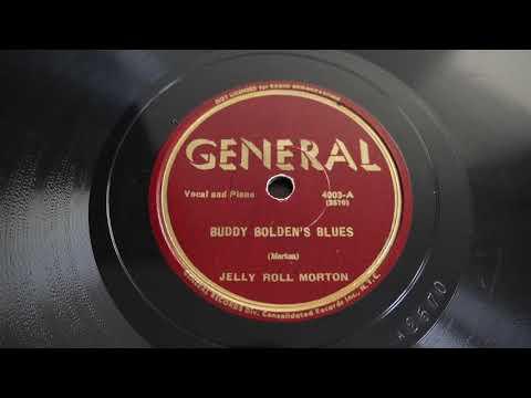 78RPM Jelly Roll Morton – Buddy Bolden's Blues (1939) General – 4003