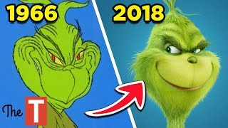 The Evolution Of The Grinch Who Stole Christmas: From 1966 to 2018