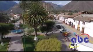 Plaza de Armas de Urubamba - CUSCO 2017 - vista desde un DRONE