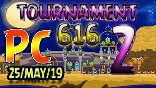 Angry Birds Friends Level 2 PC Tournament 616 Highscore POWER-UP walkthrough #AngryBirdsFriends