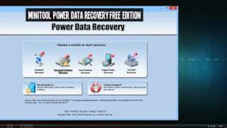 MiniTool Power Data Recovery Free Edition Keygen
