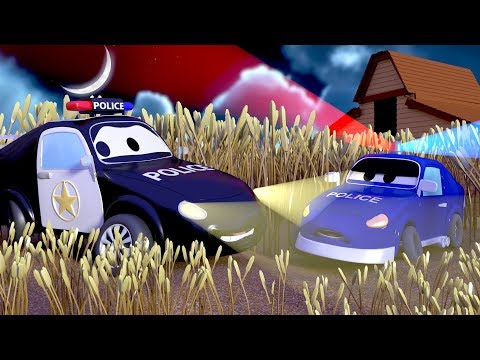 What is in Ben the tractor's field? The Car Patrol in Car City l Cartoons for Children