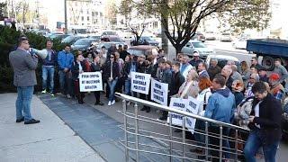Судебное заседание по делу активиста «Нашей Партии», советника г. Флорешть Врежа Мартиросяна