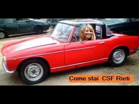 Spyder  ohne Dach Autos   Rosanna Rocci   Come stai    CSF Rieti