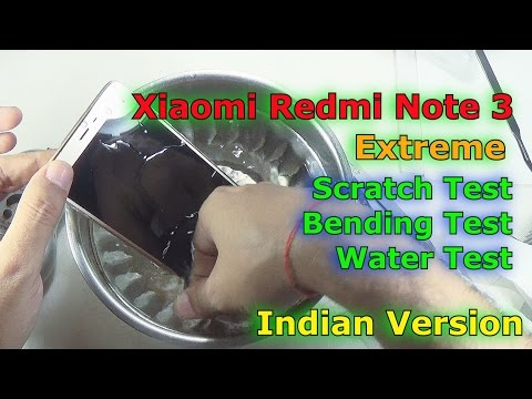 [Hindi-Audio]-Dead Xiaomi Redmi Note 3 Extreme Scrach, Bending & Water Test