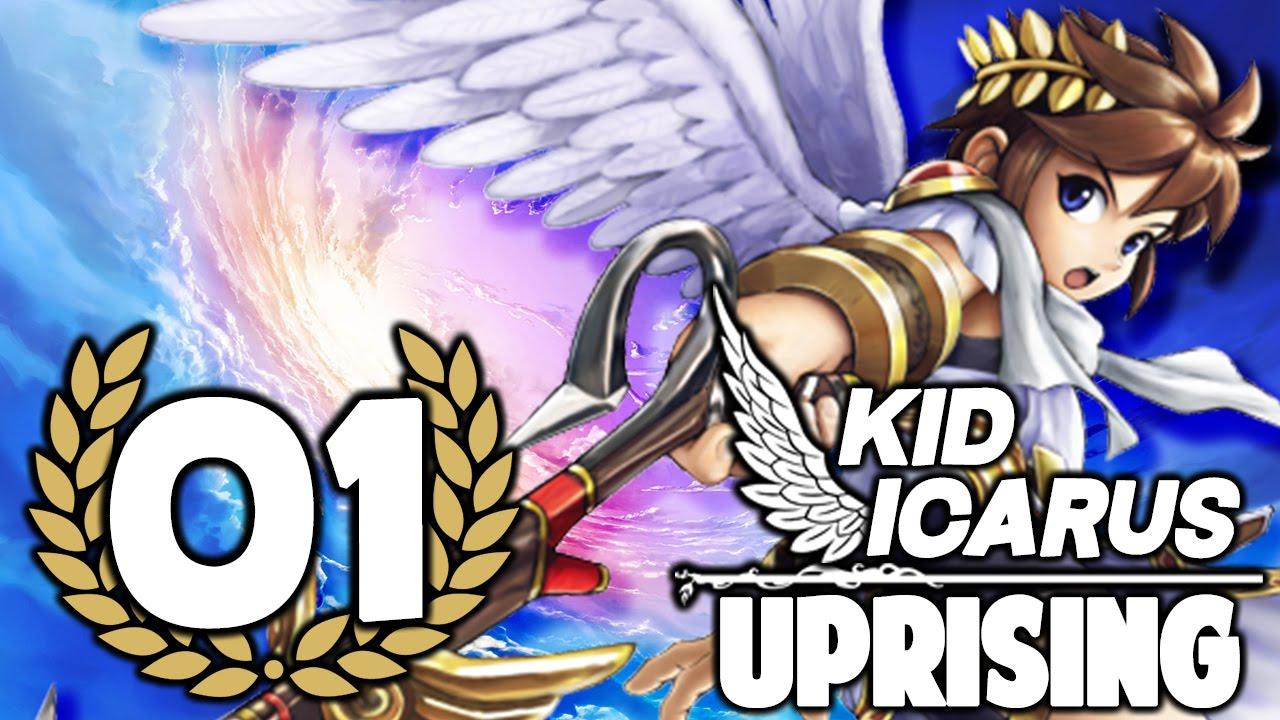 Kid Icarus Uprising 01