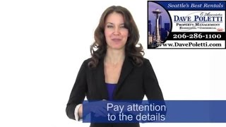 """Seattle Property Management"" - How to - Rent Your Property Fast Advice"