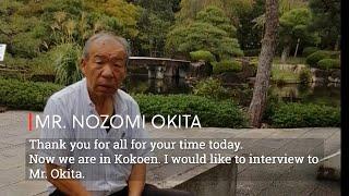 Japanese Garden Designer 大北 望  Interview with Mr. Nozomi Okita