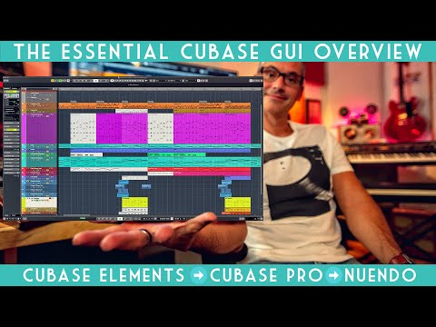 The Essential Cubase User Interface overview for beginners!