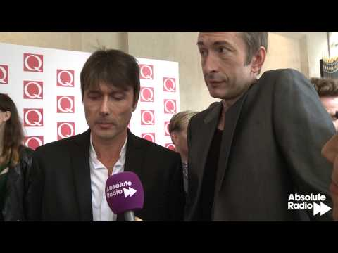 Q Awards 2013: Suede talk to Absolute Radio on the red carpet