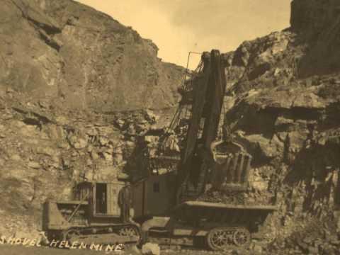 MINING TOUGH AT EARLY HELEN MINE WAWA ONTARIO CANADA 1900S