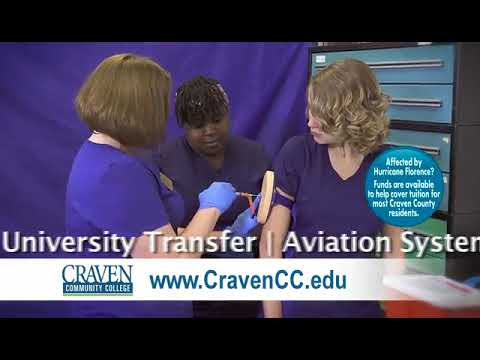 Spring 2019 Opportunities at Craven Community College
