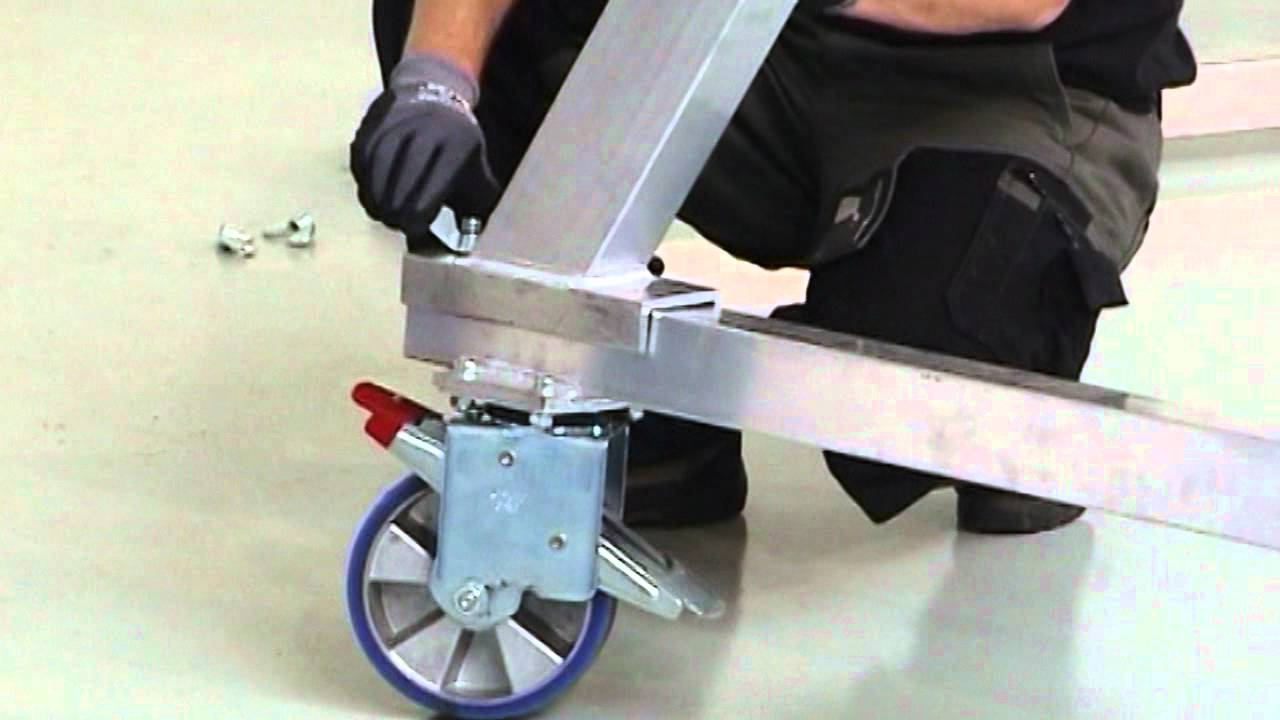 Aluminium Mobile Gantry Crane   YouTube