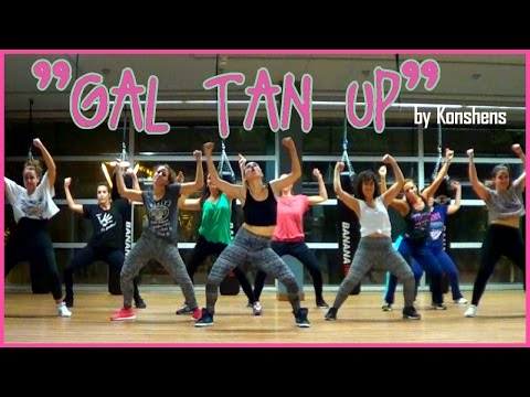 GAL TAN UP | kONSHENS | Dancehall Female Steps | Choreo by Isabel Abadal