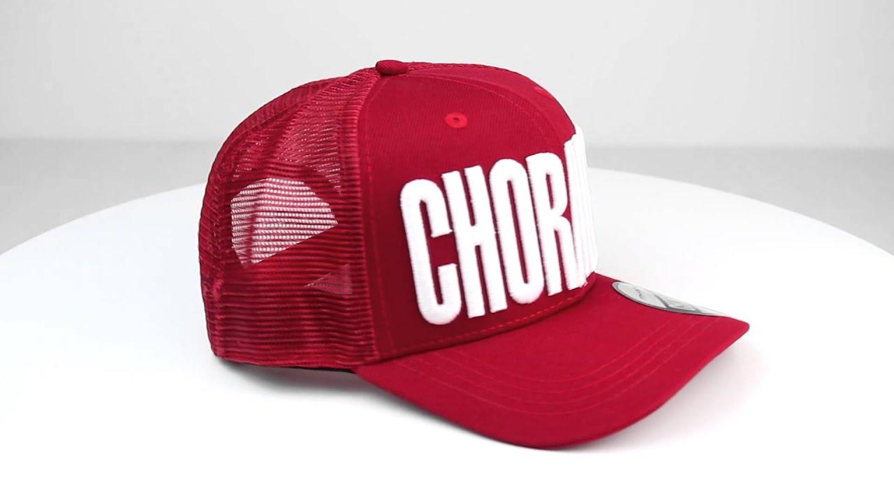e1dee7ccfc Boné Trucker – ChoraBoy – Vermelho – RFB73 - YouTube