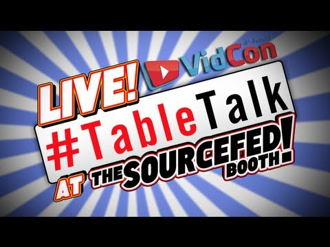 Live VidCon Table Talk with Hank Green!