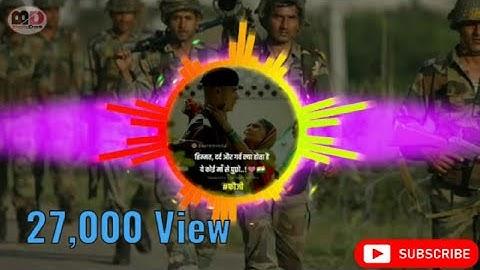 Mainu maaf Kari maa meriye is janam Tera hoon Na paya //Army song// 2020 //(#bholadas)
