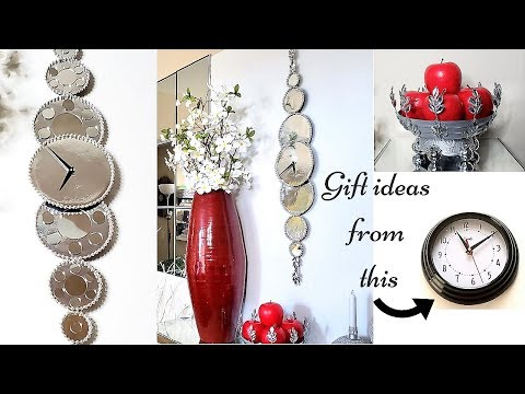 Diy Large Wall Clock and other Quick and Easy Gift ideas!