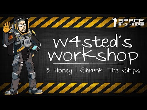 Space Engineers - Honey I Shrunk the Ships (RC & Community Contributions) - W4sted's Workshop #3