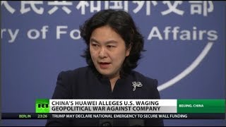 China to US: You're lying about Huawei