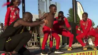 Triplets Ghetto kids & Eddy Kenzo First performance in Canada Afro fest 2018