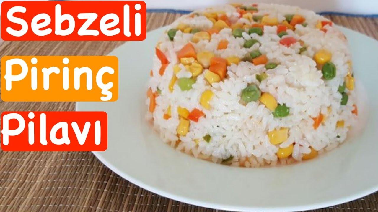 Sebzeli Pirinç Pilavı Tarifi izle Oktay Usta E-Tarifler ...