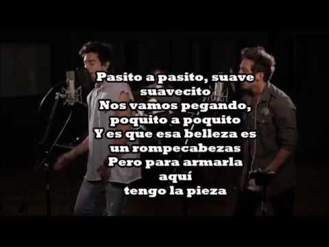 Despacito letra official   Maxi Espindola ft  Agustín Bernasconi Live Session