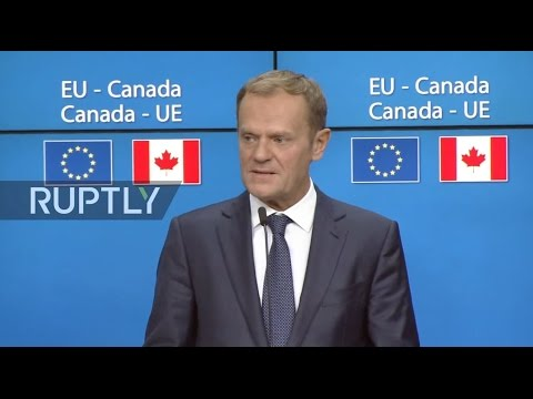 LIVE: EU council to approve CETA deal - Signing ceremony and press conference