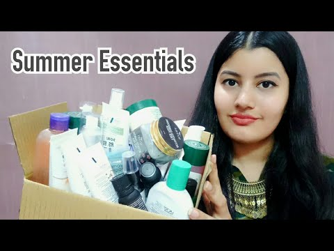 AFFORDABLE summer SkinCare Essentials || TOP SkinCare Products for Summers