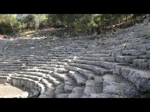 Abandoned Phaselis Roman City Turkey / ΦασηλίςTerkedilmiş Roma Harabeleri Türkiye