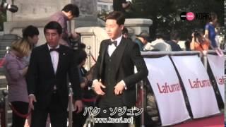 27日、ソウル 慶煕大学 平和の殿堂にて「第50回 百想芸術大賞」授賞式が...