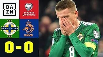 Davis verballert Nordirlands EM-Traum: Nordirland - Niederlande 0:0 | EM-Quali | DAZN Highlights