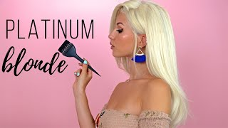 How to PLATINUM BLONDE HAIR