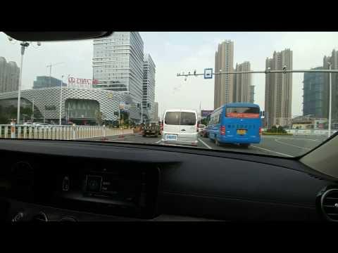 Drive Through Fuqing City Centre 福清市中心