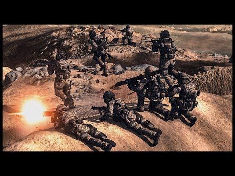 United States Space Marines on Mars