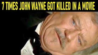 7 Times John Wayne Got Killed In A Movie