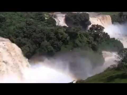 Ethiopian  Blue nile fall.