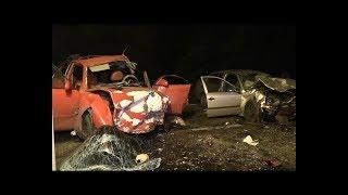 «SKODA Octavia» и «Mazda» в лобовом ДТП растрощили друг друга. Два трупа