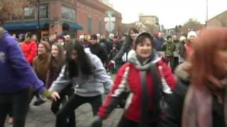Bend Oregon Christmas Parade Flash Mob