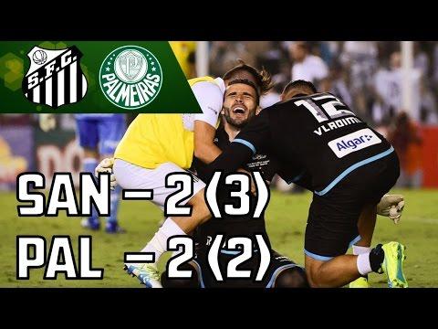 Mesa Redonda - Santos Elimina Palmeiras Nos Pênaltis  (24/04/16)