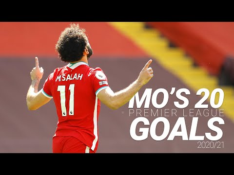 Mo Salah's 20 Premier League Goals |  2020/21 ⚽️