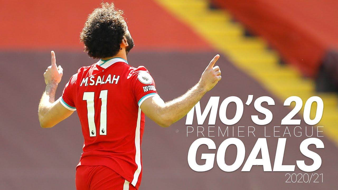Mo Salah's 20 Premier League Goals |  2020/21 ⚽️