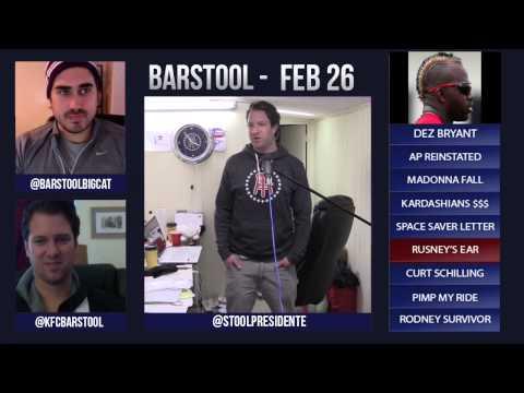 Barstool Rundown February 26